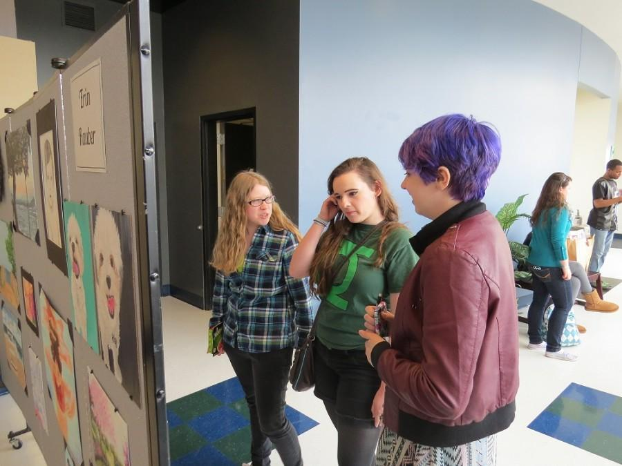 Photo Gallery: AP Studio Art holds art show