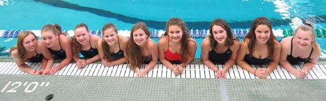 13 freshmen girls invigorate swimming team