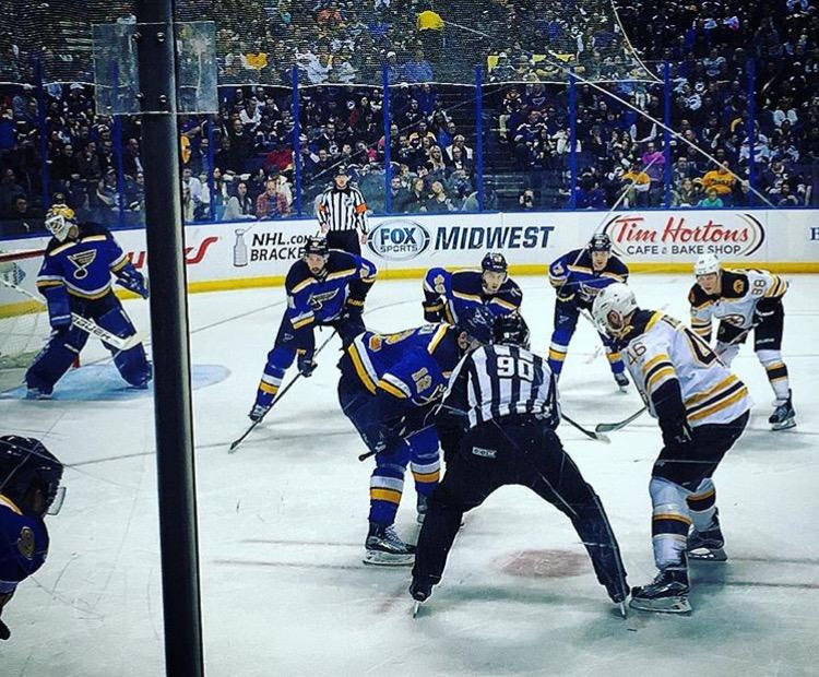 The+St.+Louis+Blues+face+off+against+the+Boston+Bruins+April+1%2C+2016+at+the+Scottrade+Center.+%28Printed+with+permission+by+Chris+Bosche%29%0D%0A