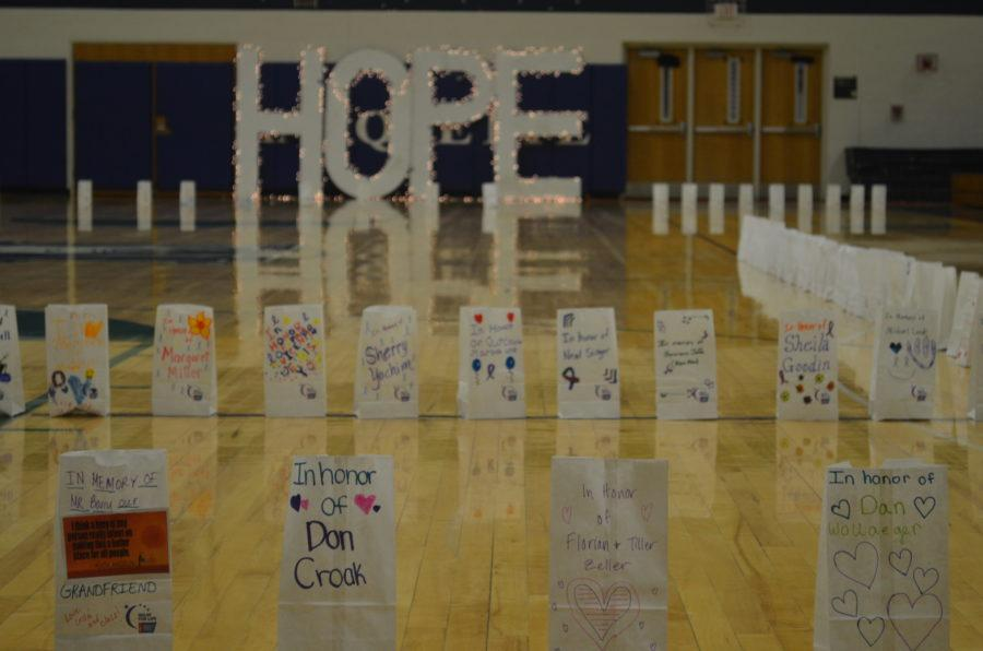 Relay for Life was held on March 26 at MHS