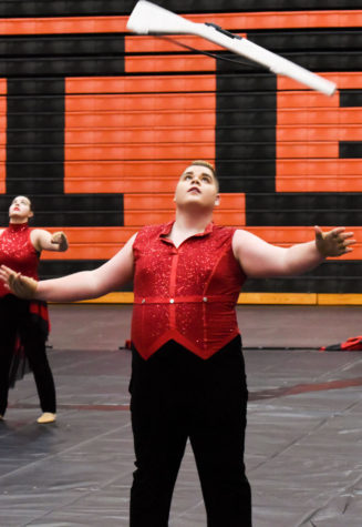 Winter Guard takes first place at competition
