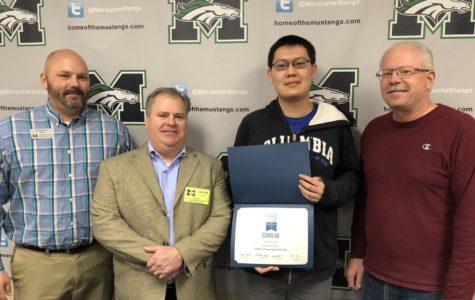 Senior wins Regeneron Science Talent Search Scholar Award