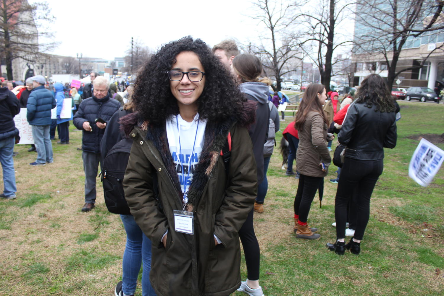 Morgan+Lowe%2C+lead+protest+organizer%2C+is+one+of+four+college+age+students+who+organized+the+protest.+%E2%80%9CIt+needs+to+change%2C%E2%80%9D+Lowe+said.+%E2%80%9CColumbine+should+have+been+enough.+Sandy+Hook+should+have+been+enough.+The+approximately+13%2C000+lives+that+are+lost+each+year+should+have+been+enough.It%E2%80%99s+time+for+change%2C+it+has+to+change+and+our+politicians+need+to+listen+to+us.%E2%80%9D