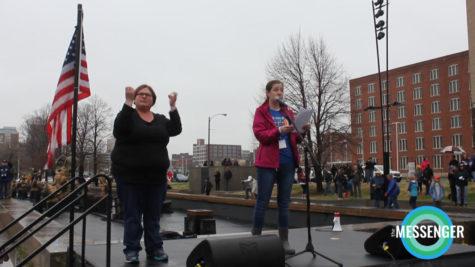 Columbine survivor speaks at March for Our Lives