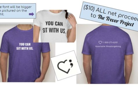 T-Shirt Sales Promote LGBTQ+ Suicide Awareness