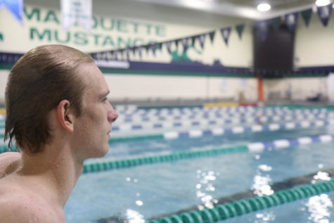 Exchange Student From Denmark Swims for MHS