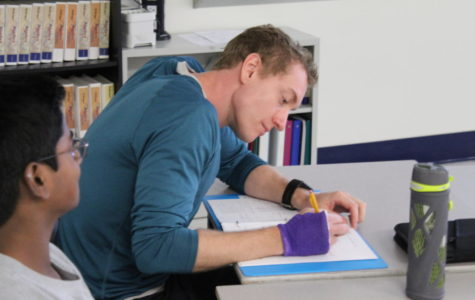 Chemistry Teacher Takes Math Class at MHS