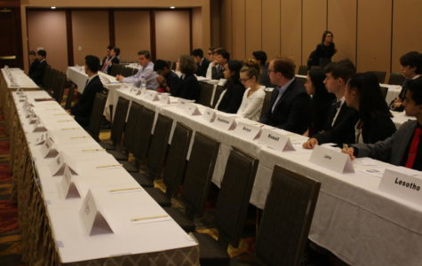Photo Gallery: New MHS Model U.N. Members Attend Year's First Conference