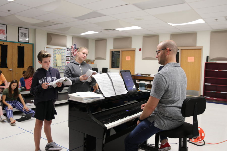 Snow day affects musical's opening night