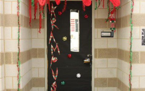 Photo Gallery: STUCO Decorates Doors with Holiday Designs