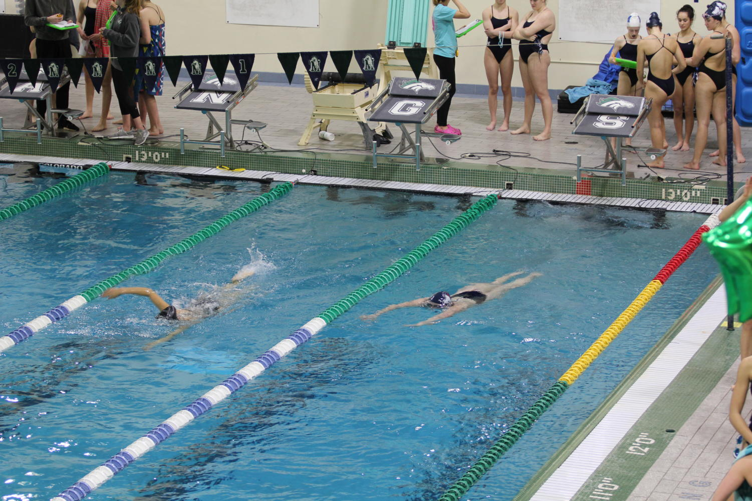 The+MHS+girls+swim+team+had+their+last+meet+against+Parkway+Central+on+Jan+24.+For+the+last+five+years%2C+the+team+has+gone+undefeated+in+their+meets.%0A