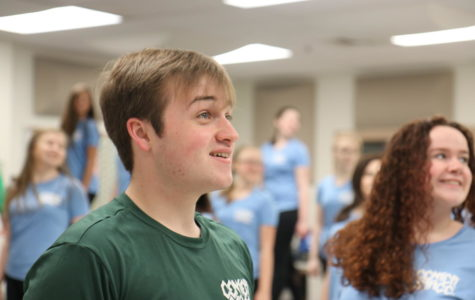 Show Choir places Third at first competition