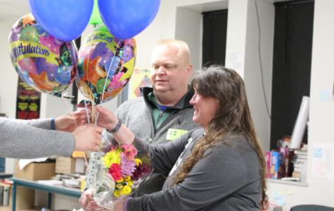 Lehmann Wins Teacher of the Year