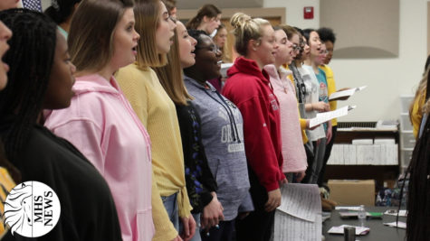 Choir Prepares for Large Group Festival