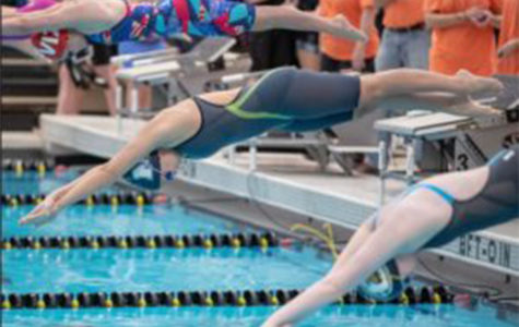 Girl's Swim Team Wins State
