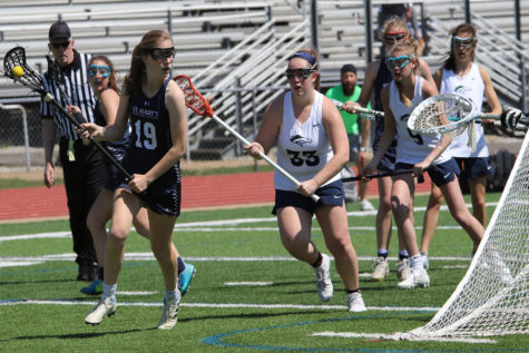 MHS Girls Lacrosse beat MICDS 14-13 for the first time on Monday