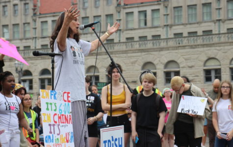 Signs for Change: St. Louis Pro-Choice Student Activists Reproductive Rights Rally