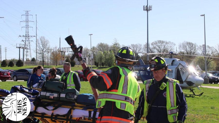 MHSNews   Prom Crash Reenactment