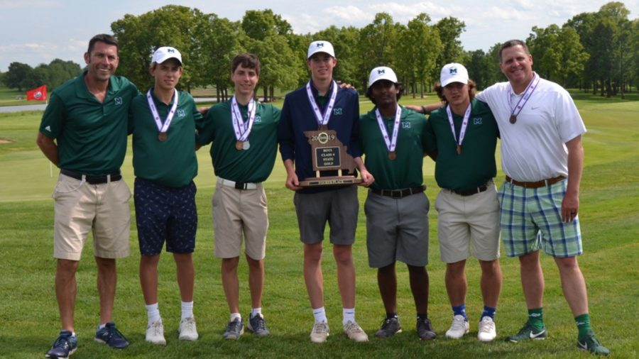 Boys Golf Wins Fourth at State