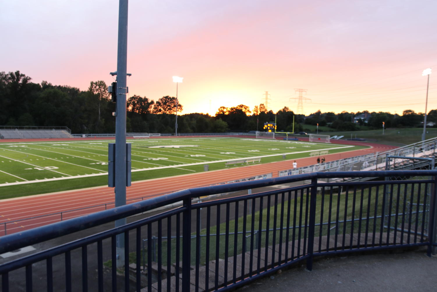 MHS' first home game of the school year is scheduled for 8 p.m. tonight against Parkway North after rain postponed the original start time. Increased security personnel and staff will monitor the field and the parking lot.