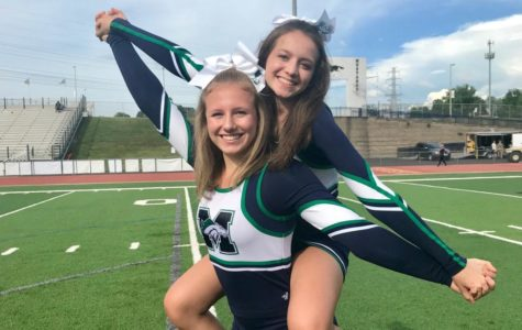 Taking a Tumble: MHS Cheerleader Recovers from Major Back Injury