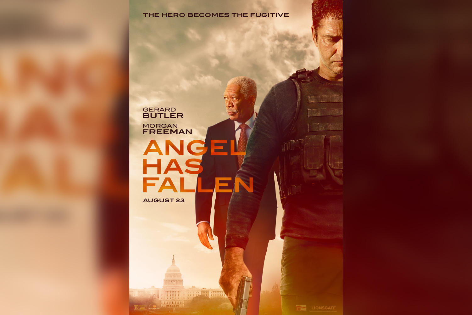 Angel Has Fallen is a 2019 American action thriller film directed by Ric Roman Waugh.