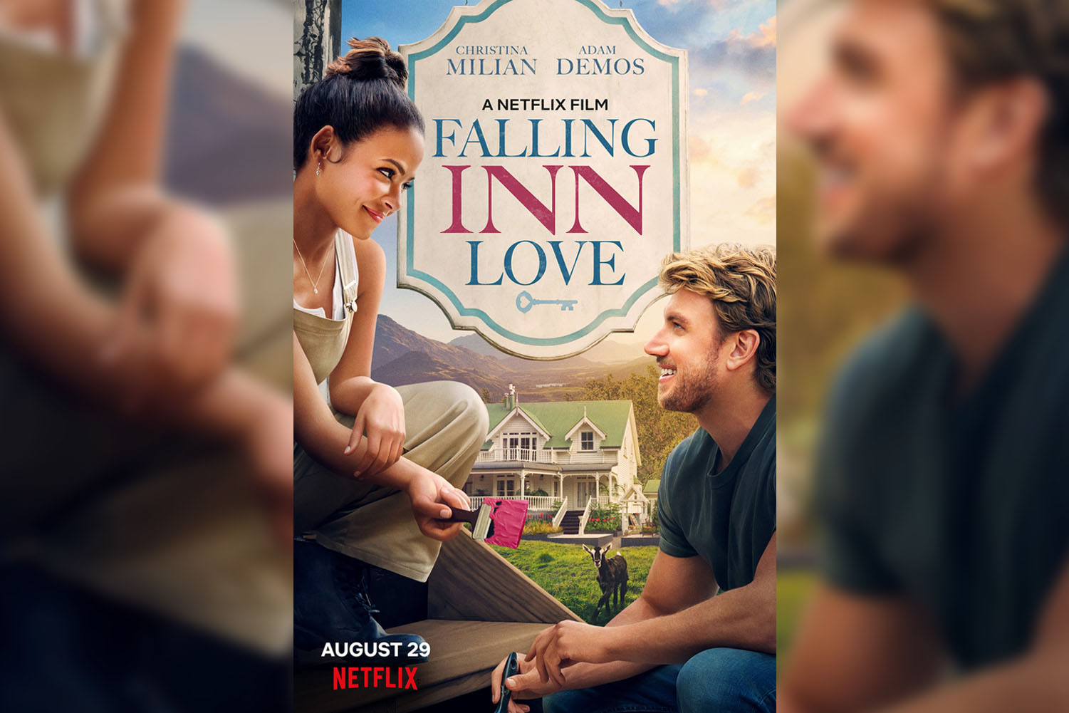 Falling Inn Love is a 2019 film directed by Roger Kumble.