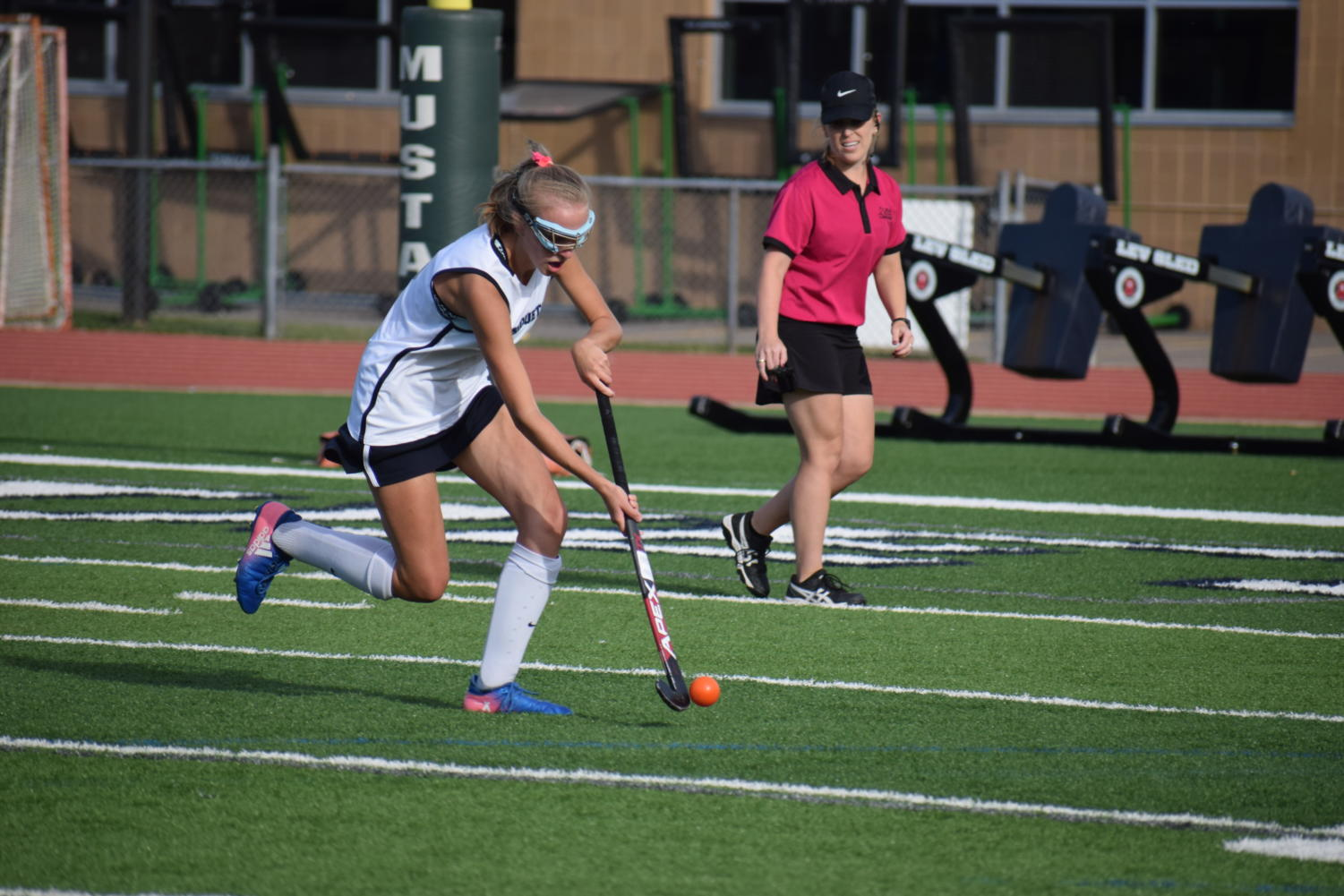 Haley+Meyer%2C+senior%2C+has+been+playing+on+the+field+hockey+team+for+four+years.+%E2%80%9CI%E2%80%99m+going+to+miss+the+team+because+they+have+been+great+throughout+the+years%2C%E2%80%9D+Meyer+said.+%E2%80%9CEspecially+the+seniors%2C+we+are+all+really+close.%E2%80%9D+