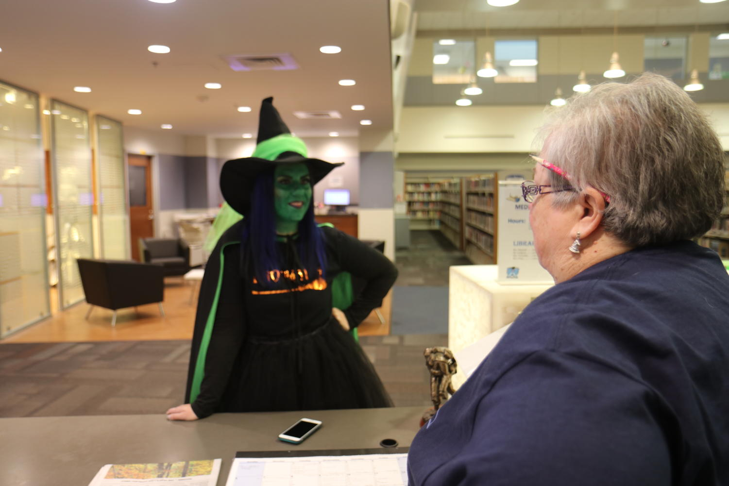 Abbey+Gradle%2C+dressed+as+Elphaba+from+the+Musical+Wicked%2C+says+%E2%80%9CI+chose+my+costume+because+Elphaba+is+my+favorite+character.%E2%80%9D