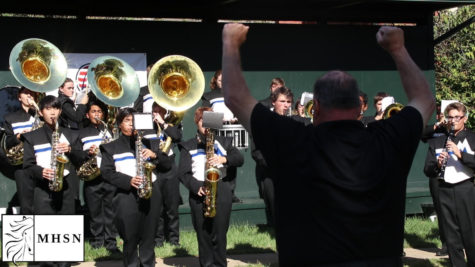 MHSNews | Marching Band Performs for Wounded Warriors Golf Tournament