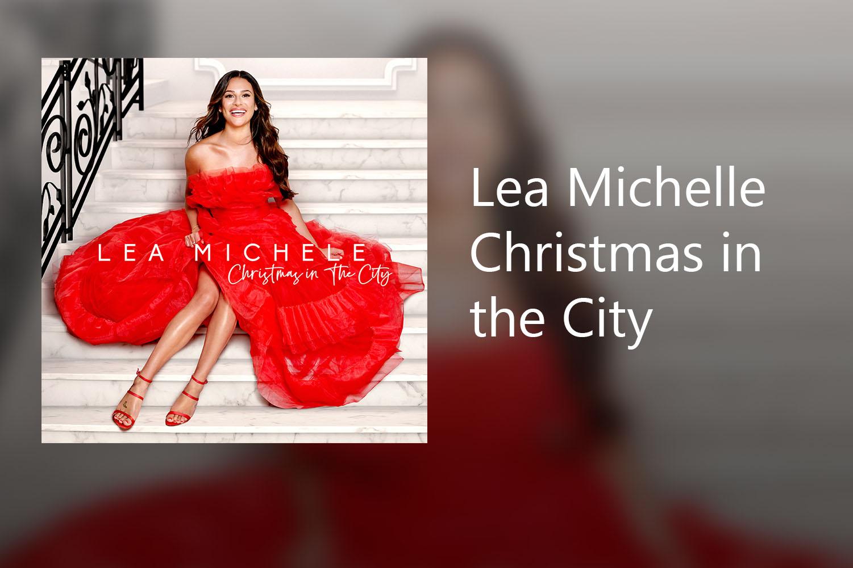 Lea Michele released her Christmas album,