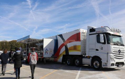 """""""Germany on Wheels"""": Wanderbus Visits MHS"""