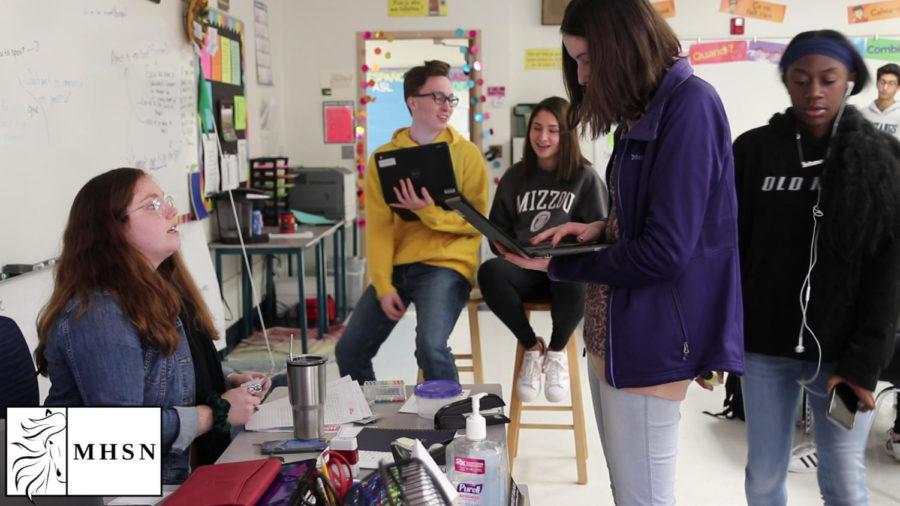 MHSNews | Teachers Make Stress Relief Efforts