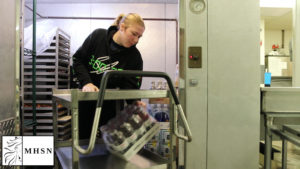 Cafeteria Employs Student Stocker