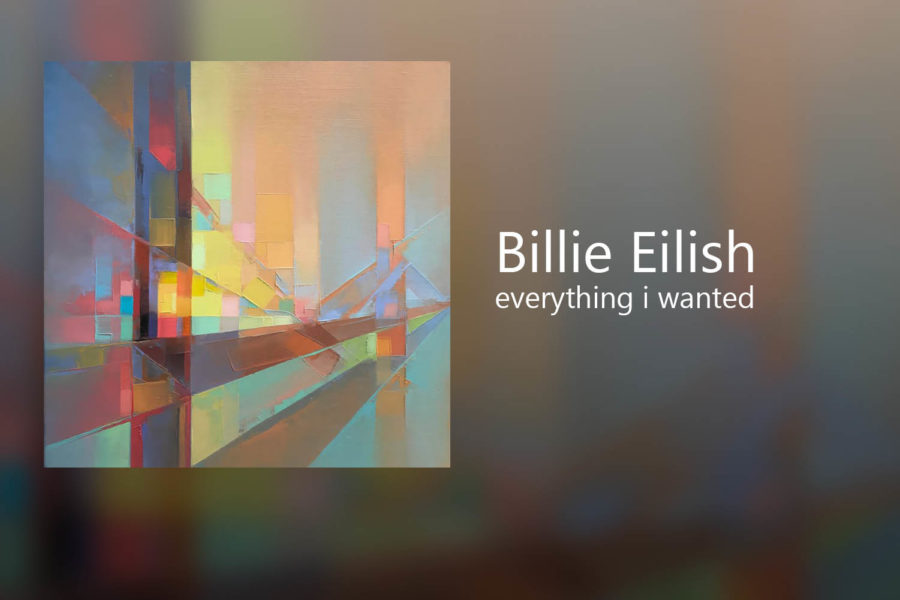Billie+Eilish+released+her+newest+single+%E2%80%9Ceverything+i+wanted%E2%80%9D+on+Nov.+13.