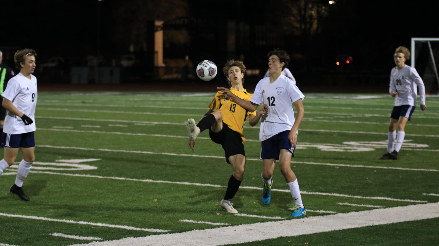 Varsity+soccer+travelled+to+face+rival+Lafayette+Nov.+4+for+the+semifinal+round+of+Districts.+While+the+Mustangs%E2%80%99+9-10-1+season+record+paled+in+comparison+against+the+Lancers%E2%80%99+17-6%2C+MHS+had+won+five+of+their+last+seven+games+coming+into+the+match.%0A