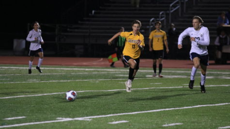 Varsity Soccer Ends Season in District Semifinal