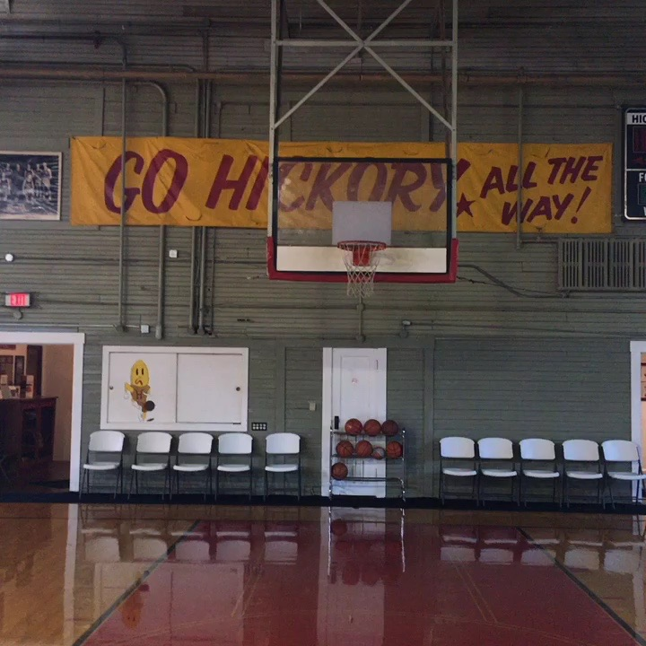 The Hoosier Gym was the set for the famous 19866 film