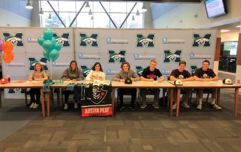 Seniors announced their commitments to different colleges on the first national signing day of the year, Nov. 23. Four incoming athletes signed to state schools and three signed to junior colleges.