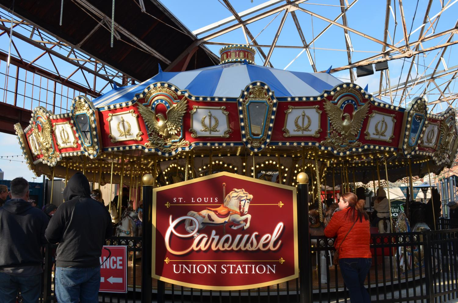 Children+enjoy+the+ride+on+the+St.+Louis+Carousel+Union+Station.+The+Carousel+is+located+beneath+the+historic+Union+Station+train+shed+and+the+admission+for+the+ticket+is+%245.