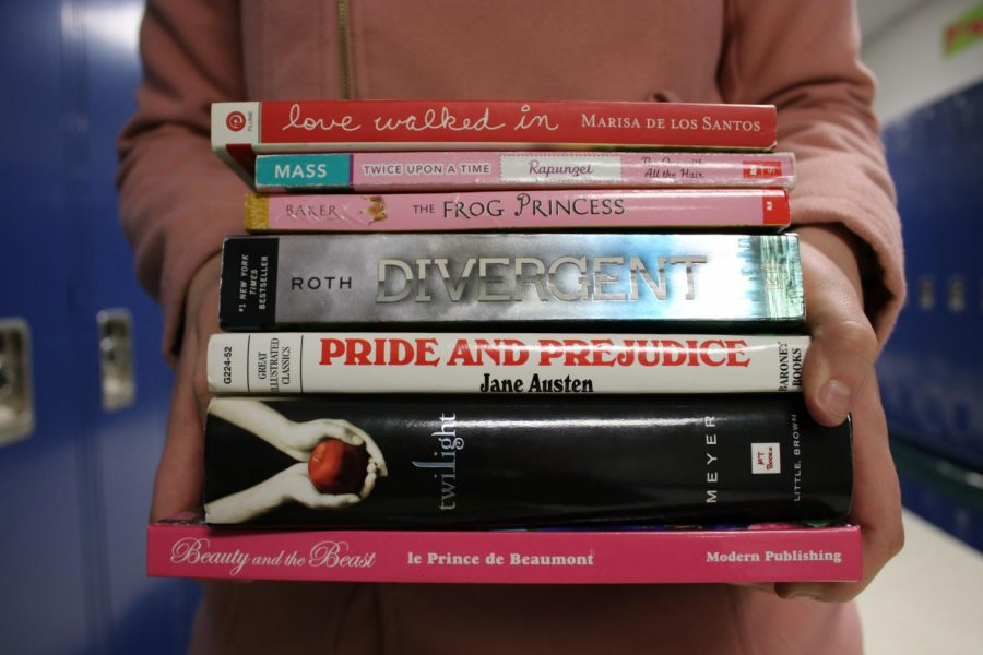 The variety of romance novels available to high school students portray unrealistic relationships and can impact students' expectations about relationships.