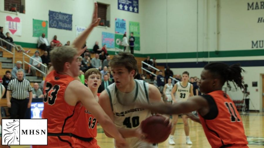"MHSNews | Boys Varsity Basketball Earns ""Josh Merz Night"" Win"