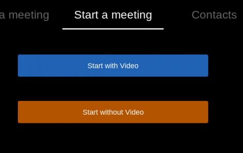 Zoom allows students to meet with their teachers and ask questions about assignments. They can also start their own meetings if they have a Zoom account.
