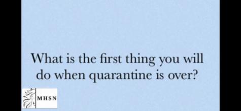 MHSNews | Students Reflect on the Quarantine Experience