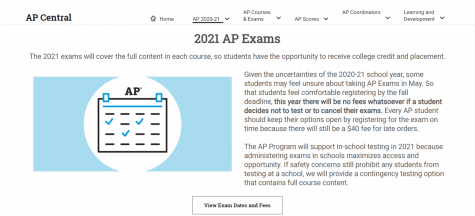 College Board announces some of their AP exam plans for the 2020-2021 school year.