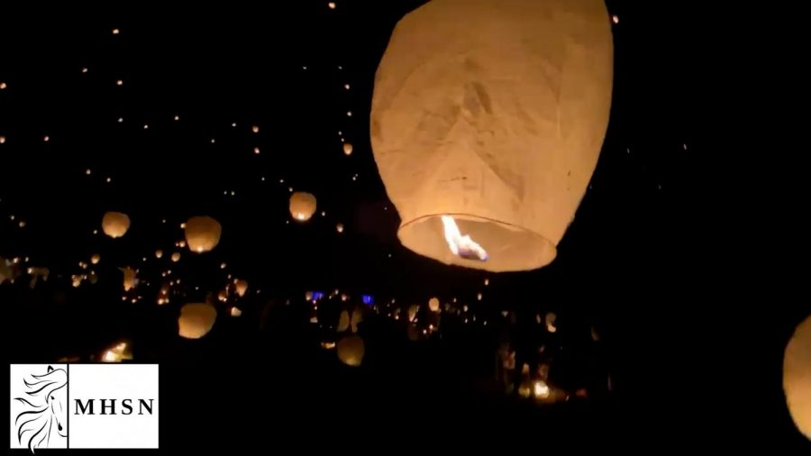 MHSNews | Night Lights: Sky Lantern Festival Review