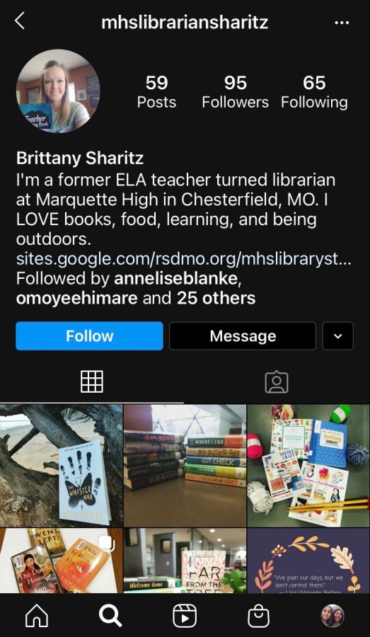 Sharitz%27s+Instagram+features+books+for+upcoming+holidays%2C+inspirational+quotations+and+announcements.