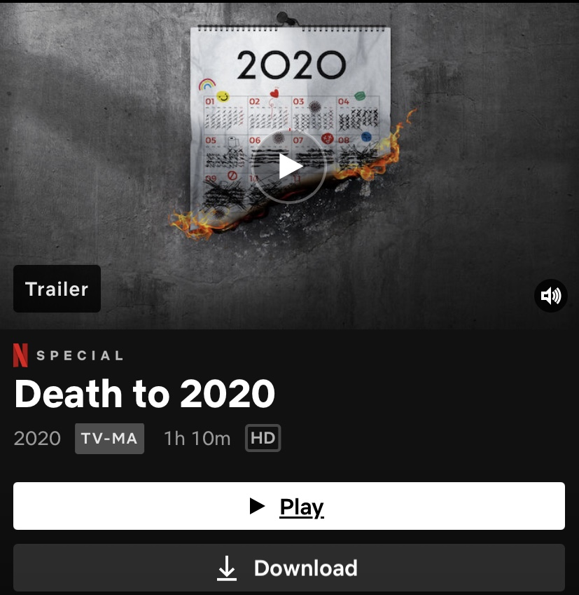 Movie Review: Death to 2020