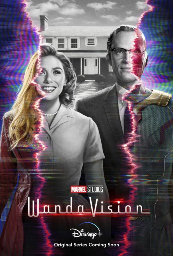 """The new Disney Plus miniseries """"WandaVision"""" featuring Wanda Maximoff (Elizabeth Olsen) and Vision (Paul Bettany) premiered on the streaming service on January 15th to critical acclaim. The show is directed by Matt Shakman and written by Jac Schaeffer and boasts a rating of 8.2 on IMDB."""