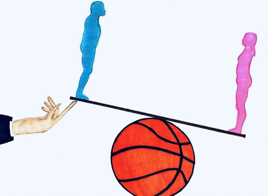 NCAA tips the scale in favor of the men